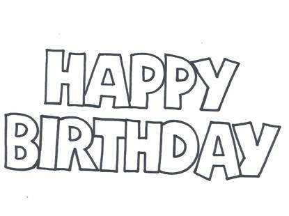 8 Best Images of Happy Birthday Free Printable Letters ...