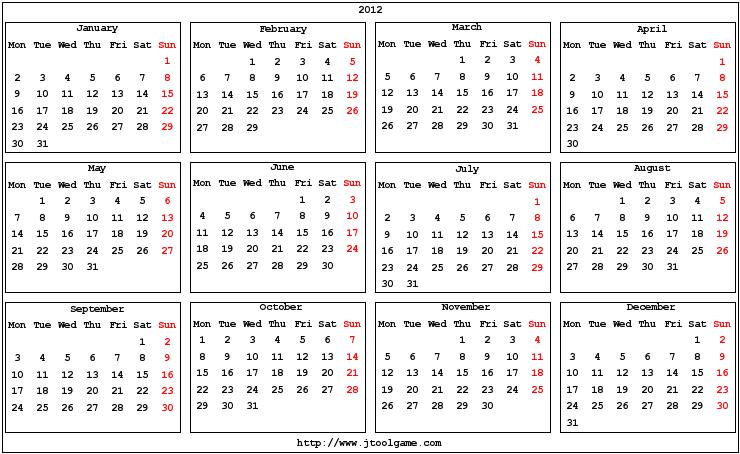 7 Images of Pocket Size Calendar Printable