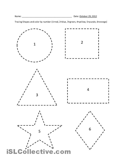 Printables Free Printable Preschool Worksheets Tracing printables free printable preschool worksheets tracing 5 best images of shape