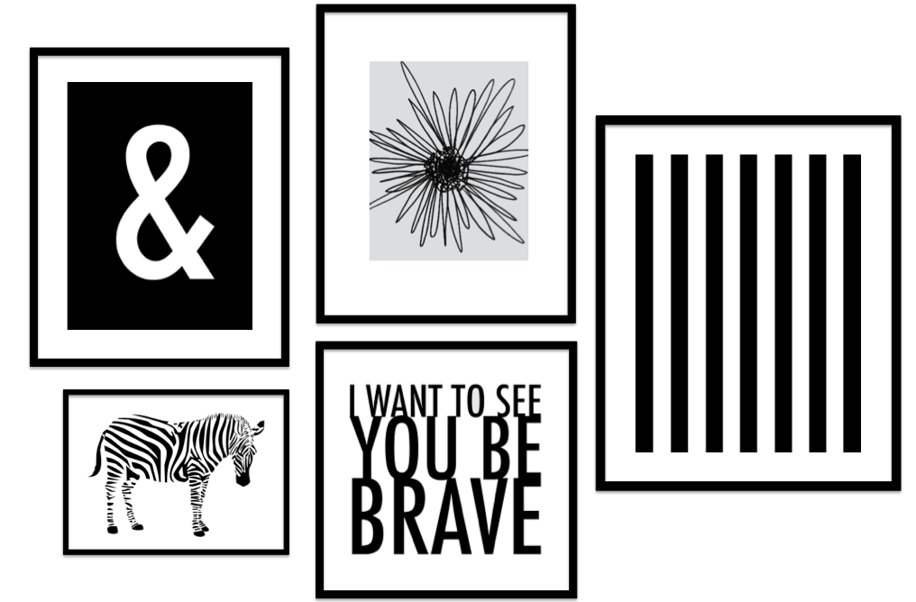 7 Images of Gallery Wall Art Printables