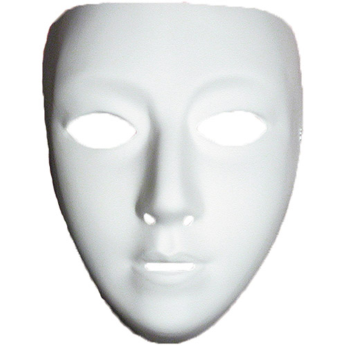 5 Images of Blank Face Printable Mask Template
