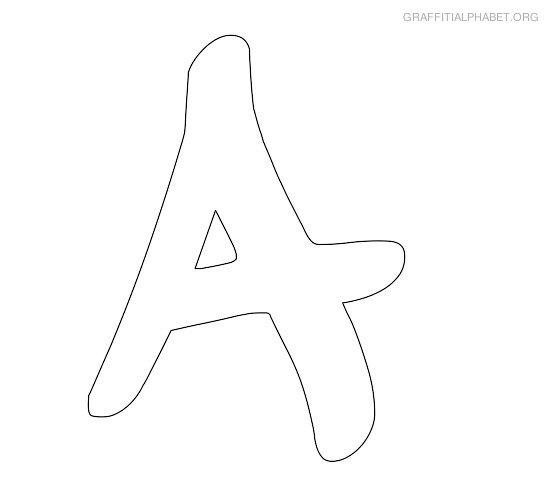 Traceable letter stencils for Traceable alphabet templates