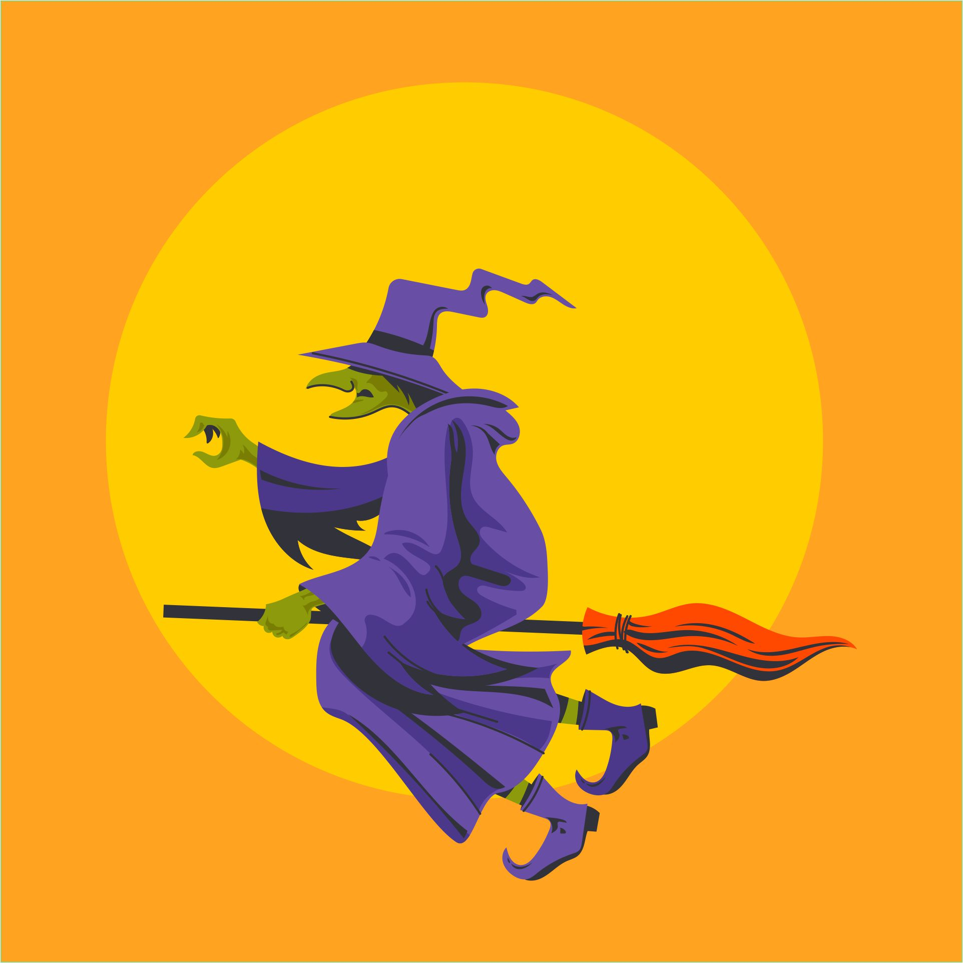 4 Images of Halloween Printable Clip Art