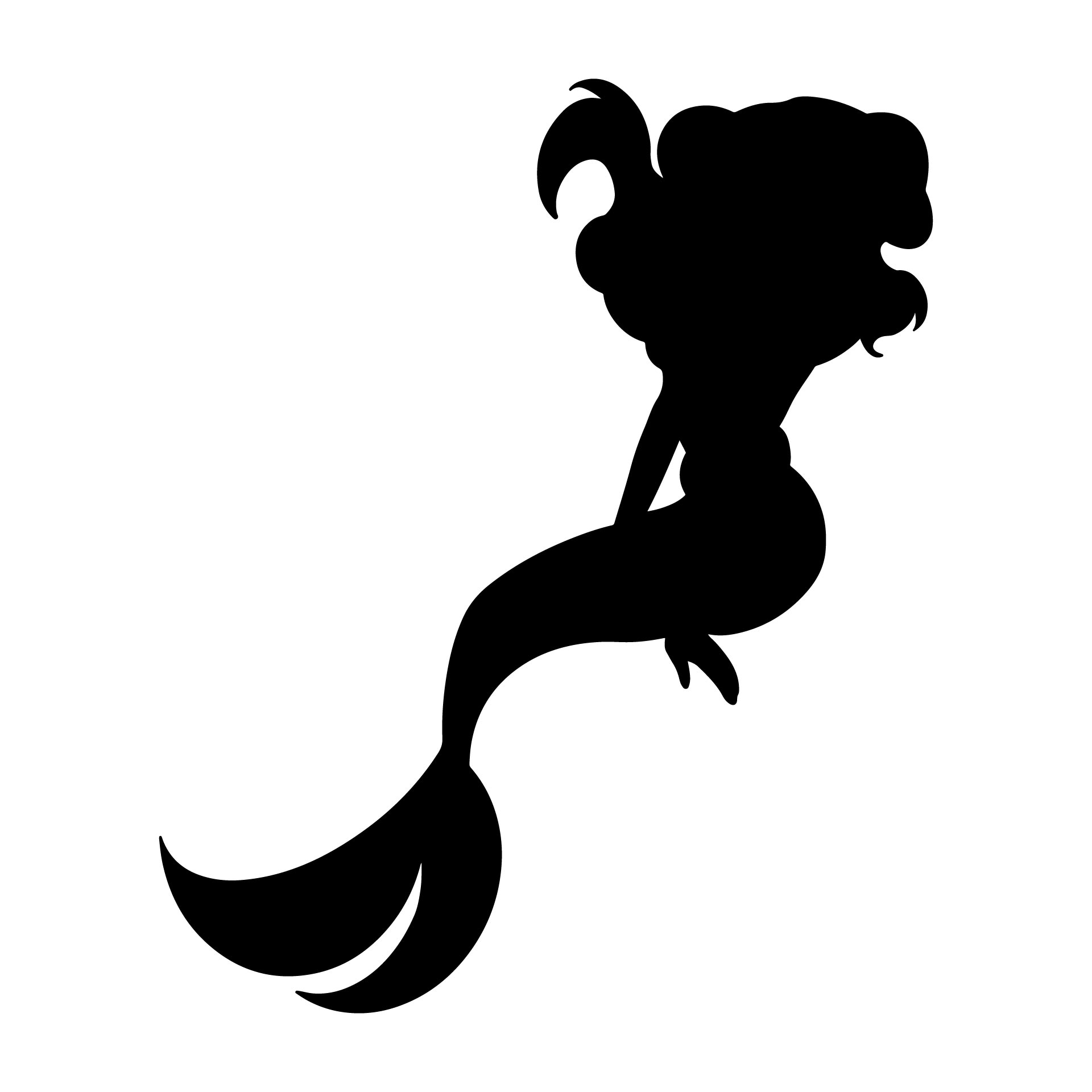 Mermaid Pumpkin Carving Stencil 8 Best Images Of Little