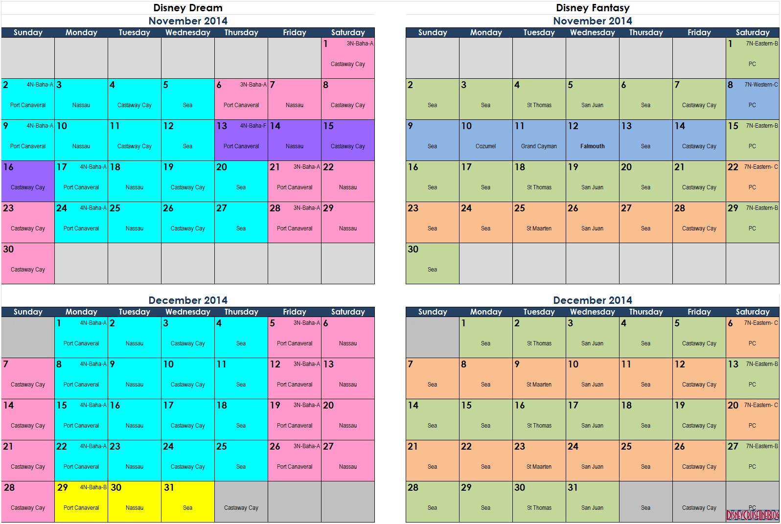 November Calendar 2014 : Best images of disney printable calendars november