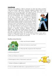 7 Images of Pokemon Printable Readings