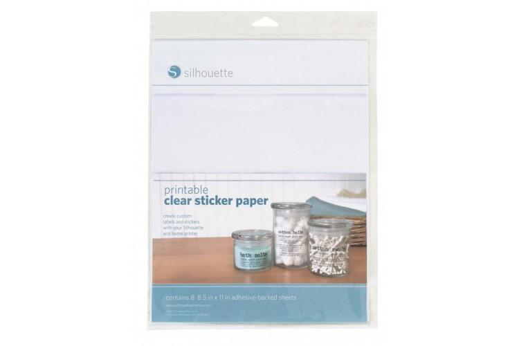 7 Images of Transparent Printable Sticker Paper
