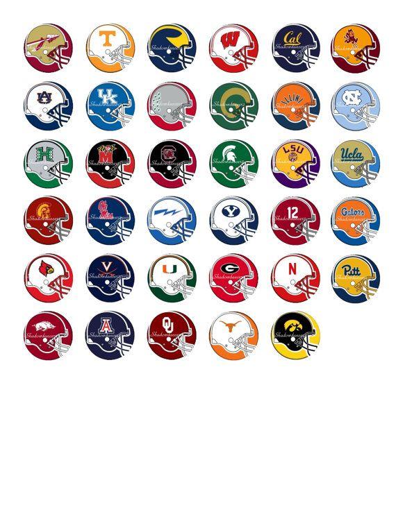 Printable College Football Logos