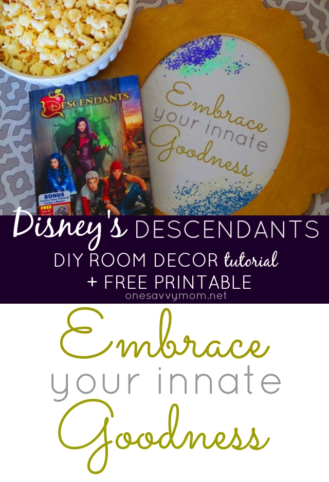 Printable Mal Disney Descendants