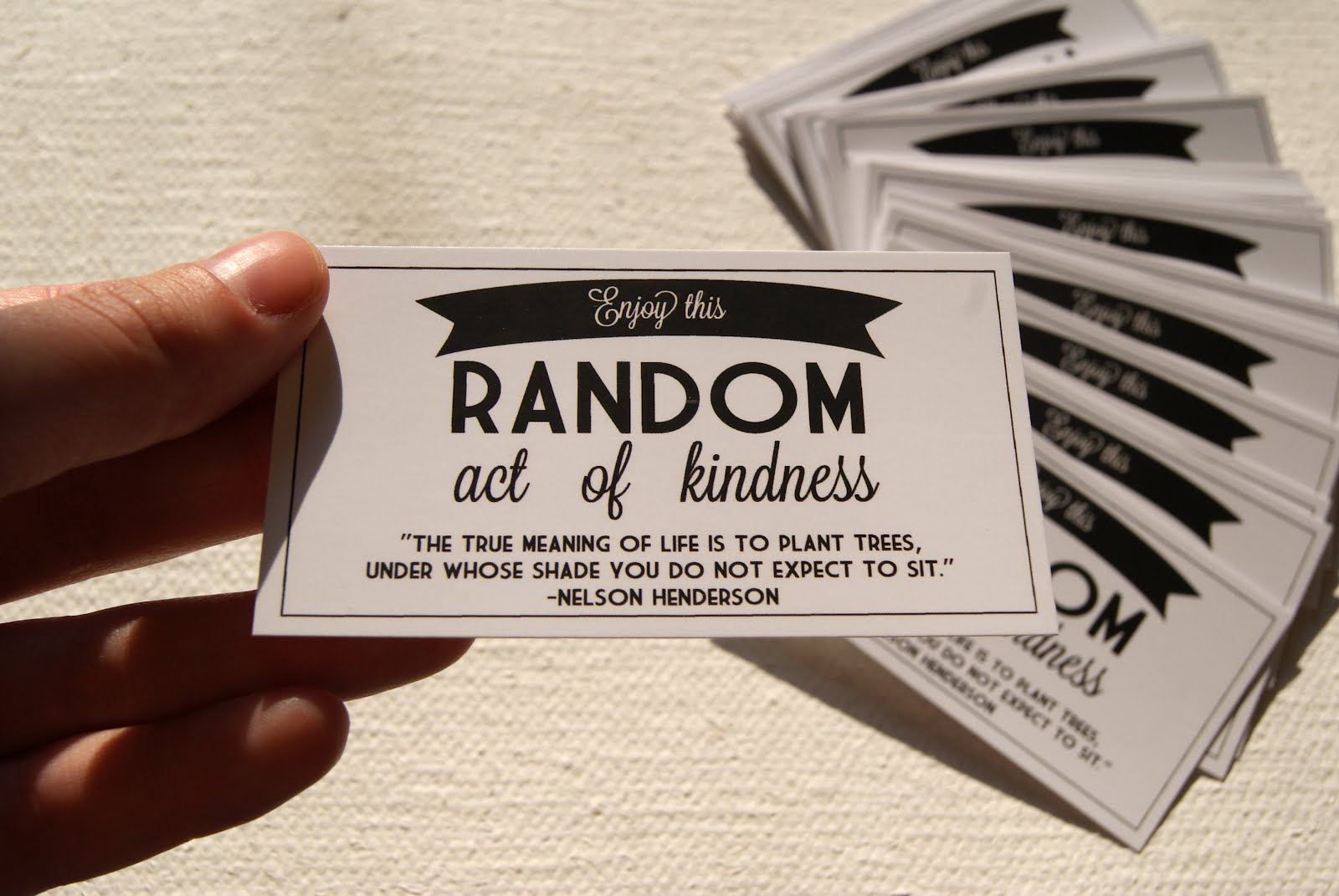 7 Images of 27 Printable Kindness Cards