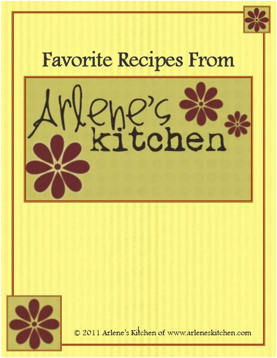 Recipe Book Cover Printable : Best images of recipe book cover printable