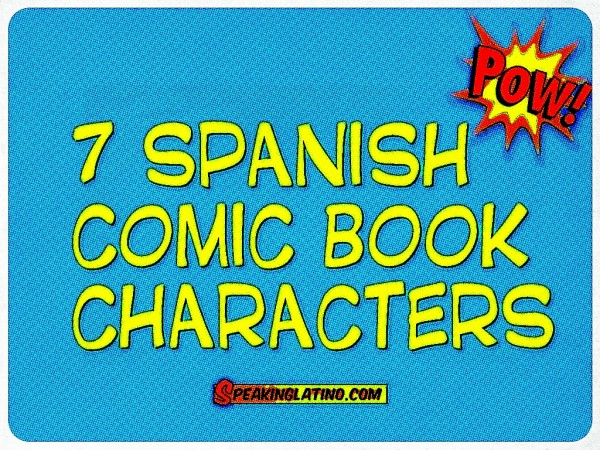 9 Images of Printable Spanish Comic Books