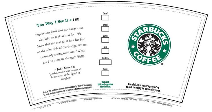 Starbucks Coffee Printables