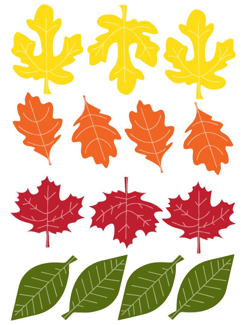 Thanksgiving Leaves Printable