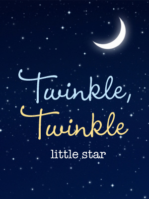 7 Best Images of Twinkle Twinkle Little Star Printables ...