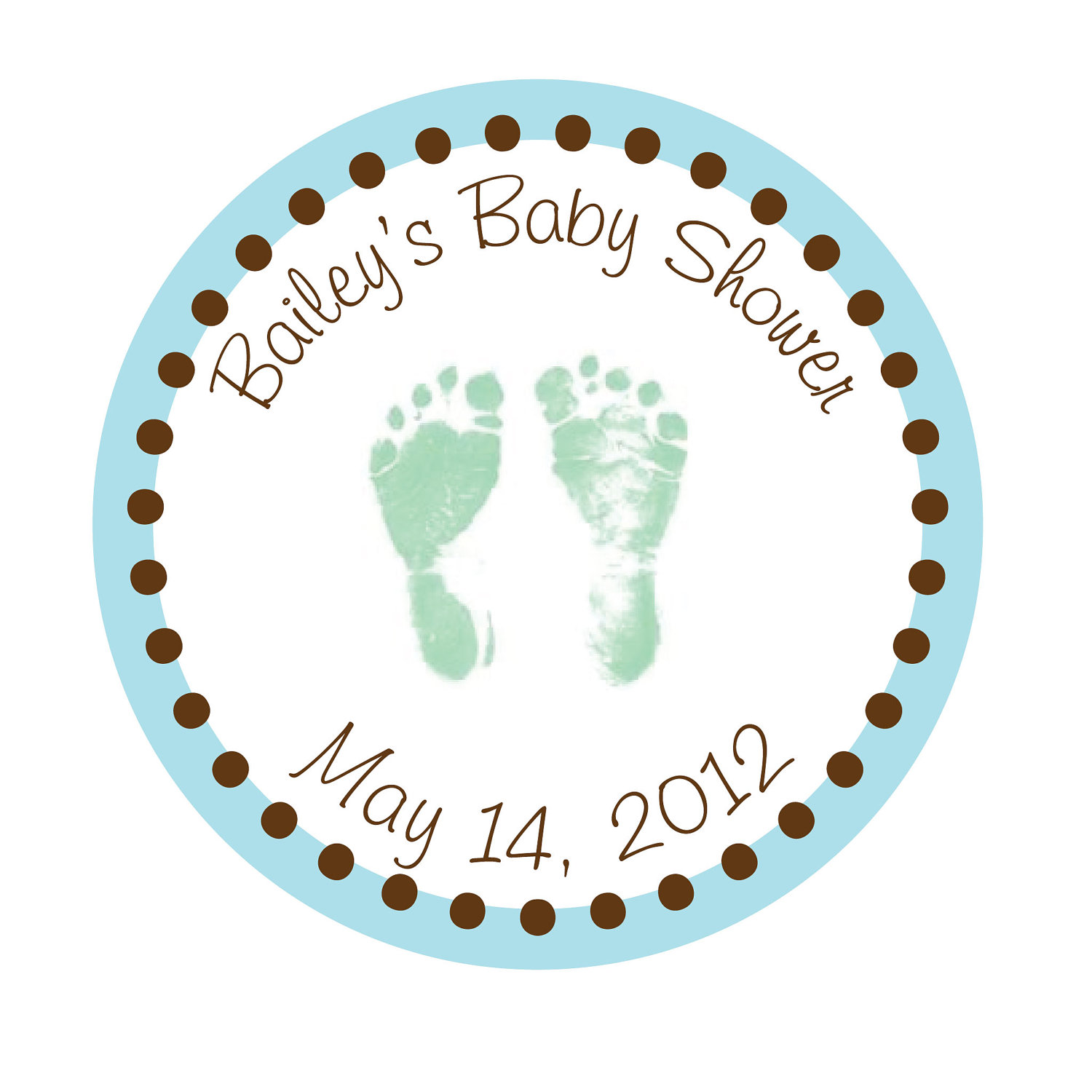 9 best images of printable baby shower favor sticker for Baby shower label template for favors