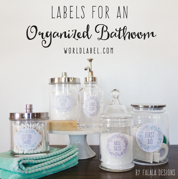7 Images of Bathroom Printable Labels Organize