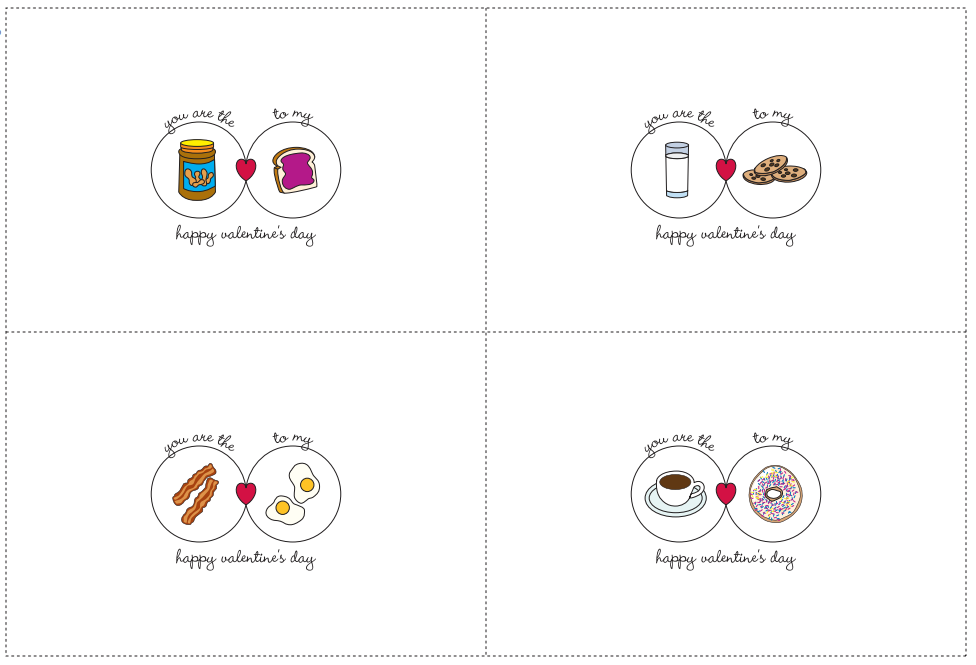 8 best images of free printable cards for friends free for Valentine ideas for friends