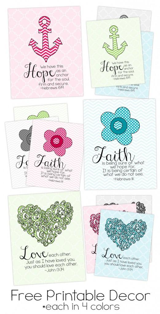 Bible Verse Printables Free