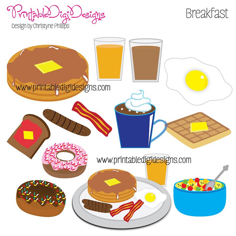 7 Images of Printable Pictures Of Breakfast Food