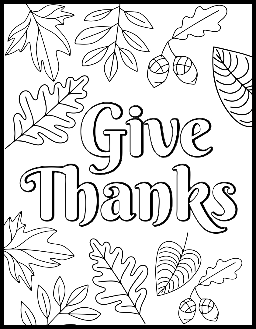 6 Images of Printable Thanksgiving Activity Sheet