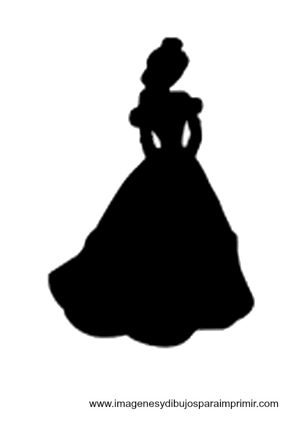 8 Images of Free Printable Disney Princess Silhouettes