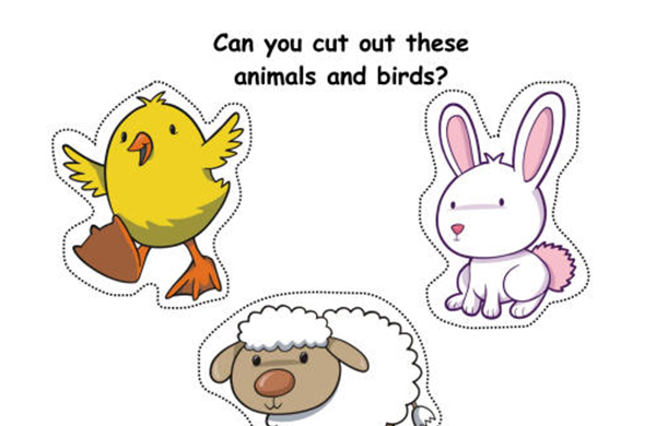 7 Images of Cut Out Farm Animal Printables