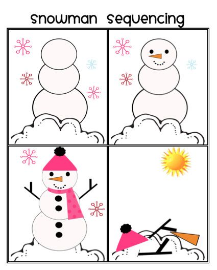 preschool story sequencing printables picture sequencing worksheets for preschoolers 6 best 262