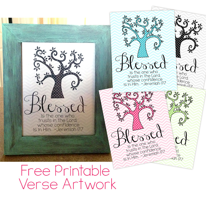Free Printable Bible Verse Decor