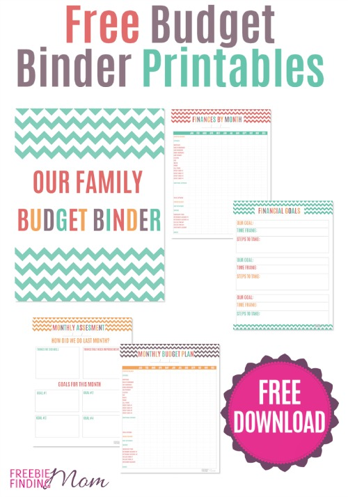 Free Printable Budget Binder Worksheets