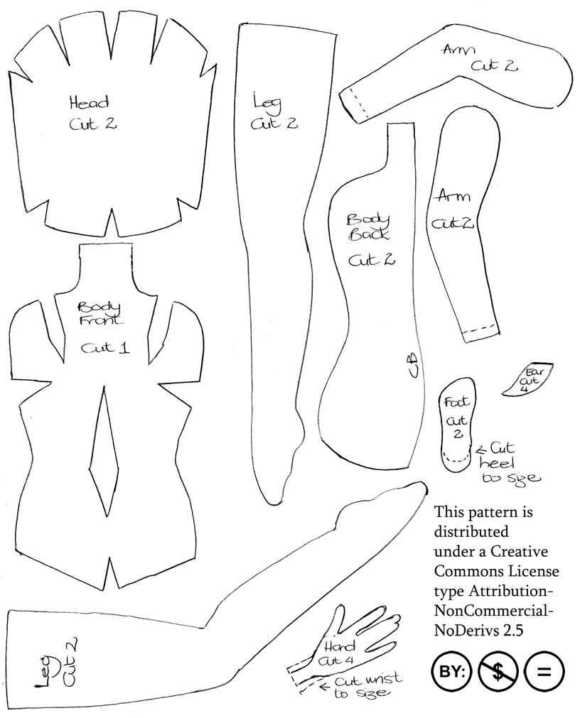 7 Images of Printable Paper Doll Patterns