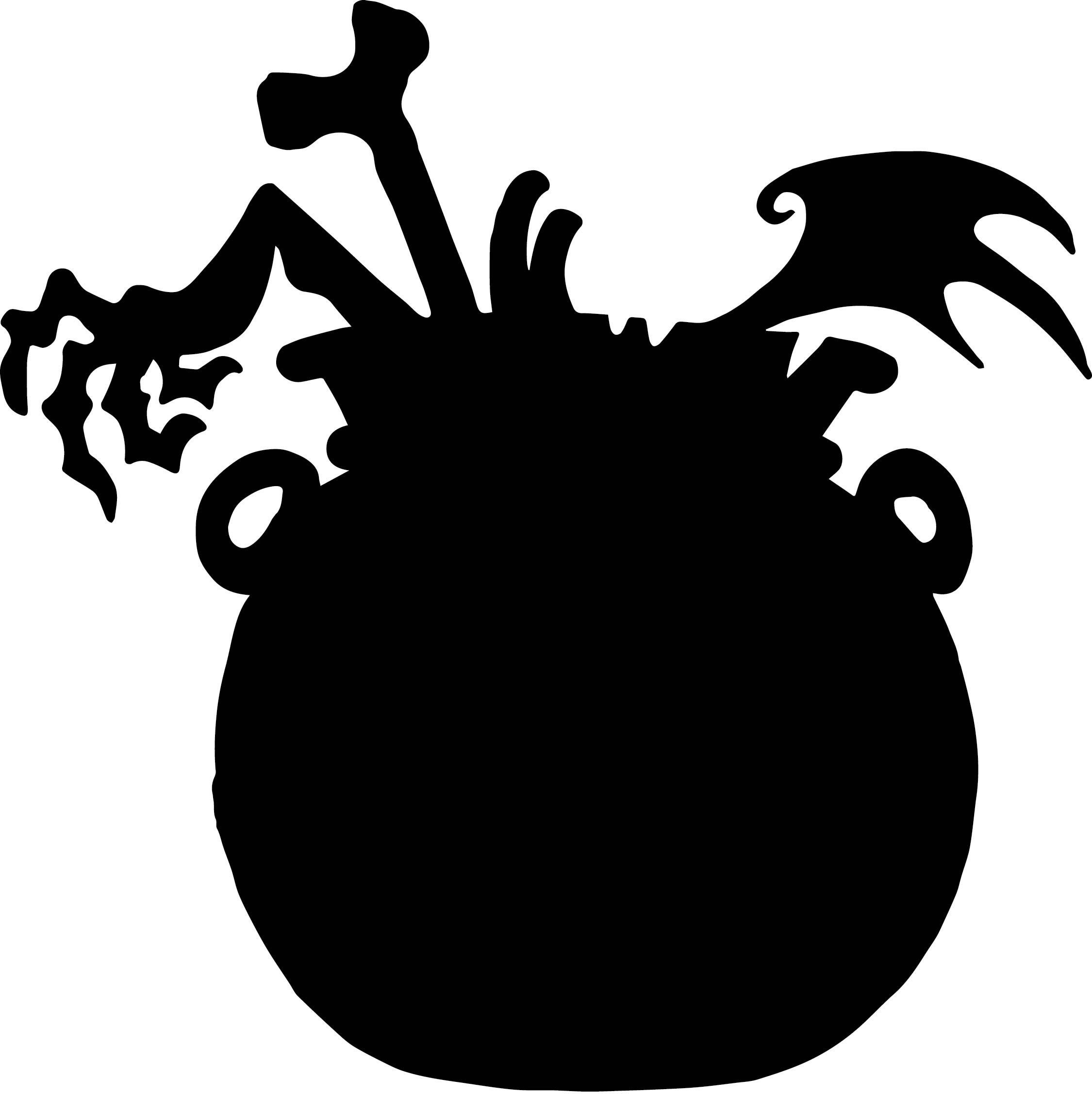 Printable Halloween Silhouette Templates