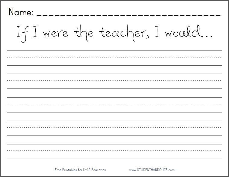 Free Writing Worksheets For Kindergarten free handwriting – Custom Handwriting Worksheets