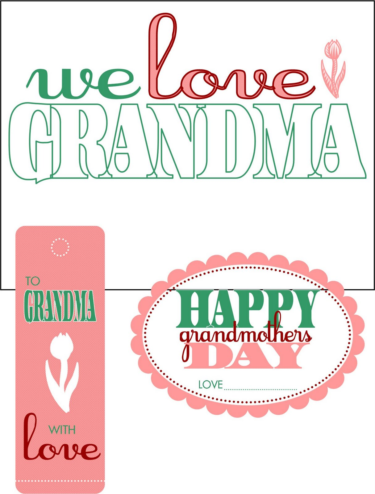 5 Images of Printable Pictures Of Grandma's