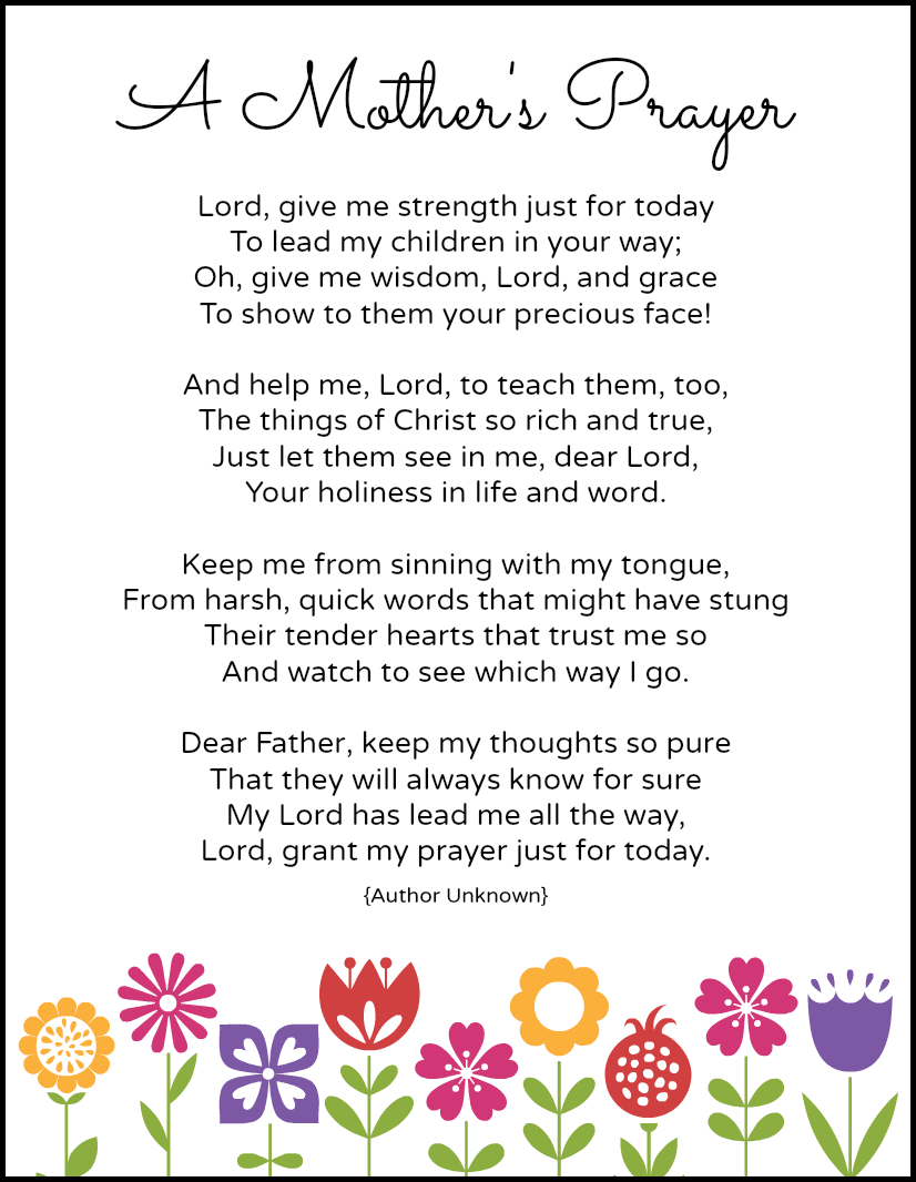 6 Images of Free Printable Prayers