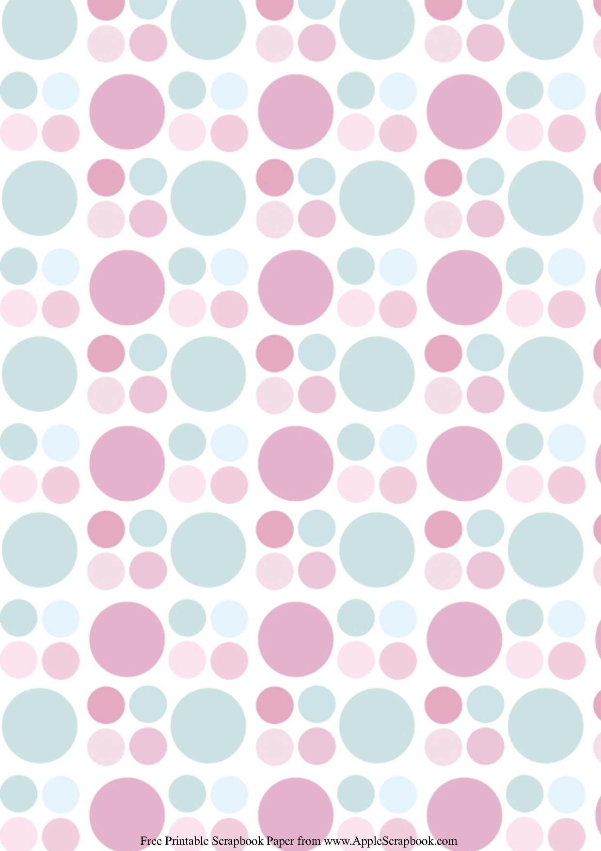 4 Images of Free Printable Scrapbook Paper Designs