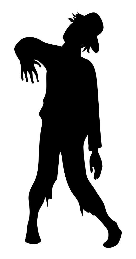 Halloween Zombie Silhouettes