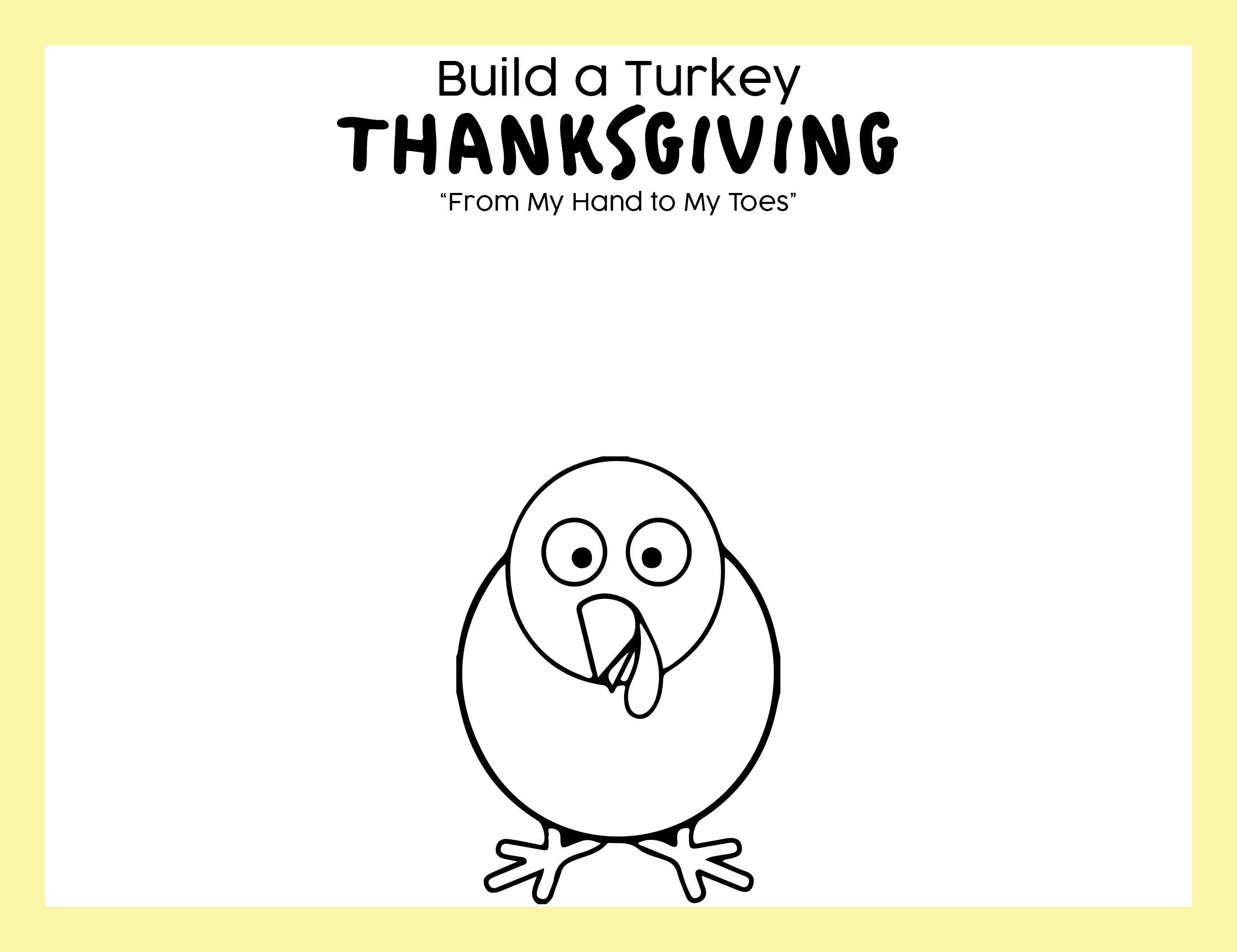 Kids Thanksgiving Placemat Craft