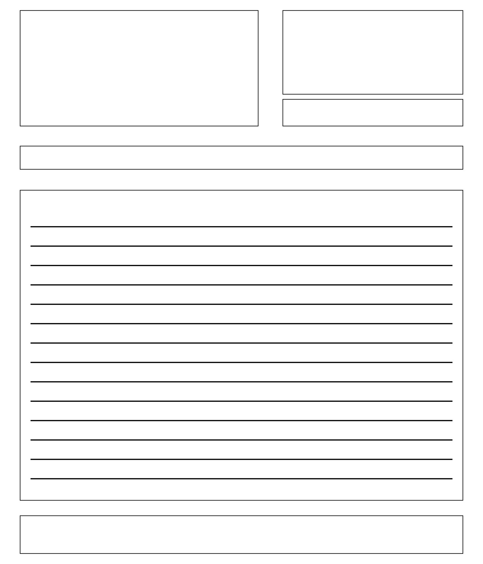 Letter-Writing Template