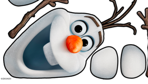7 Images of Olaf Head Template Printable