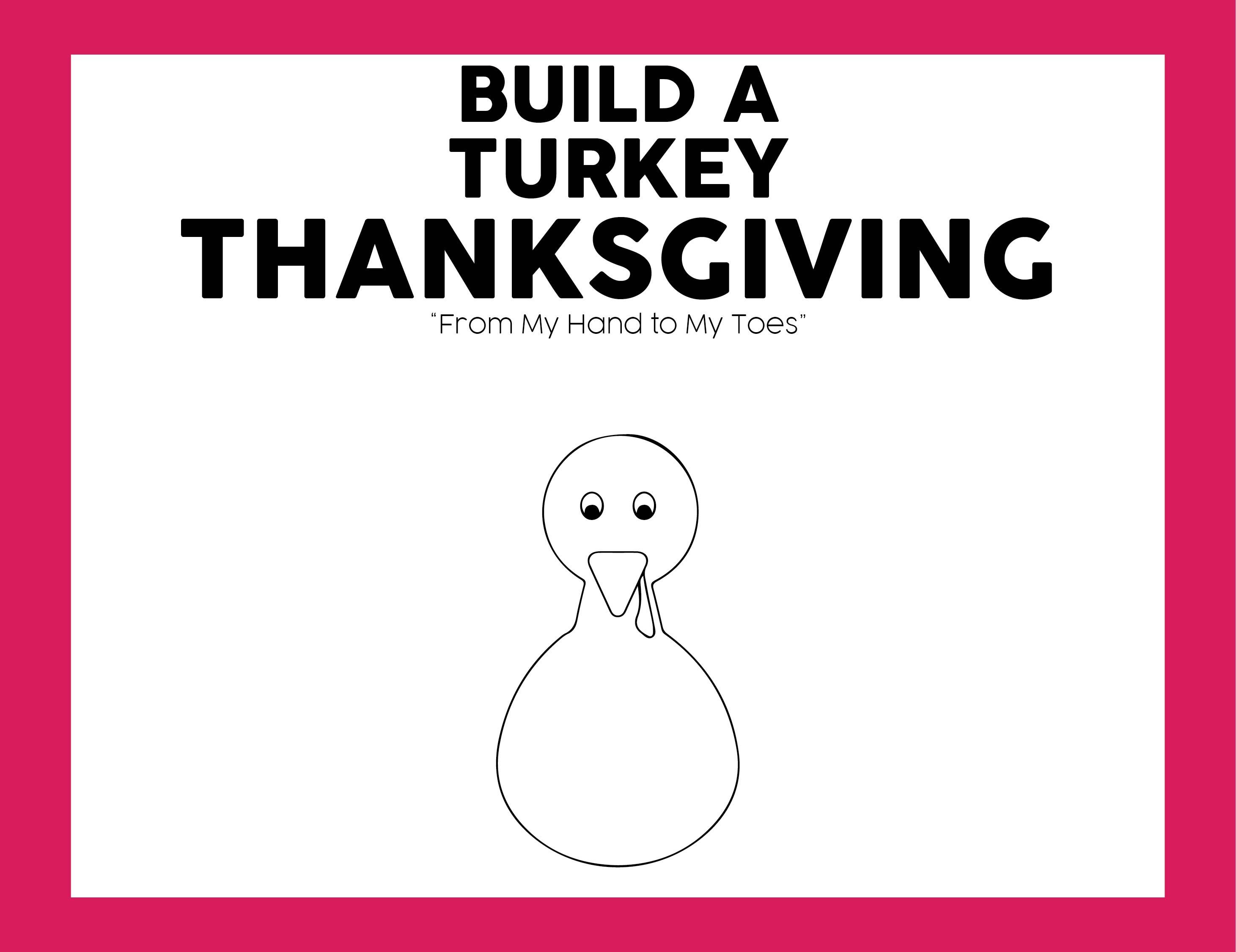 Preschool Thanksgiving Placemat Ideas
