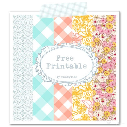 8 Images of Pretty Paper Designs Free Printables