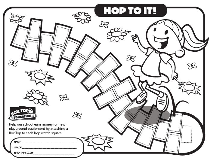 Printable Box Tops Collection Sheets