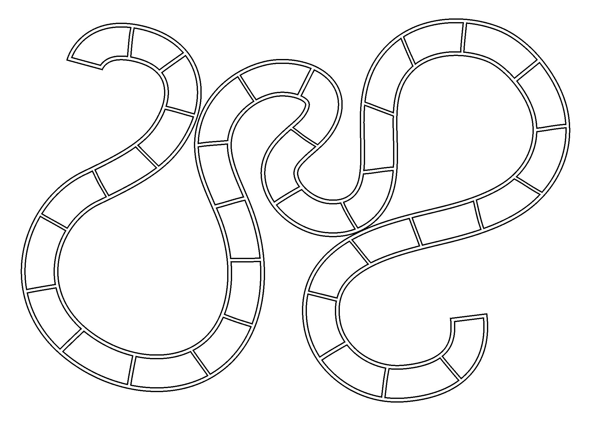 Printable Game Board Templates