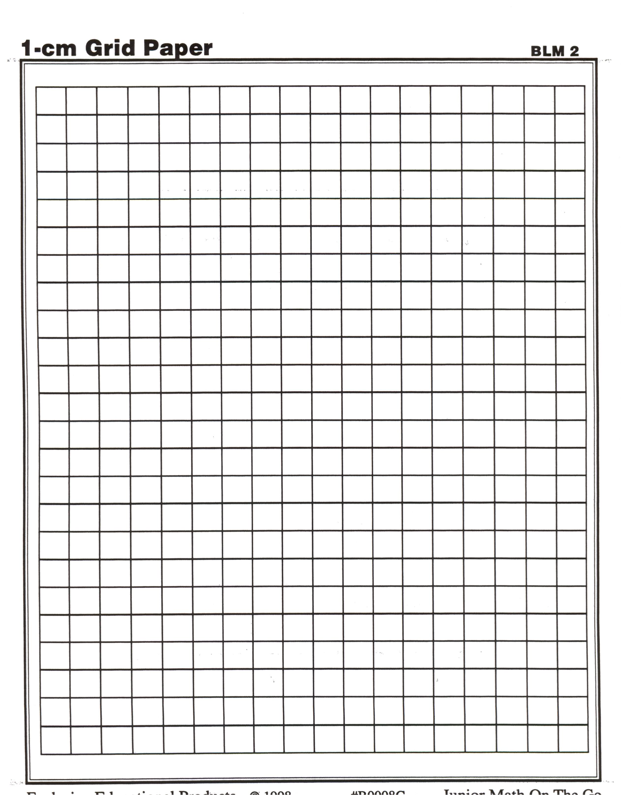 Graph Paper - 1 2 Inch Grid Paper Printable, Half Inch Grid Paper ...