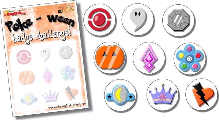 6 Images of Pokemon Badges Printable