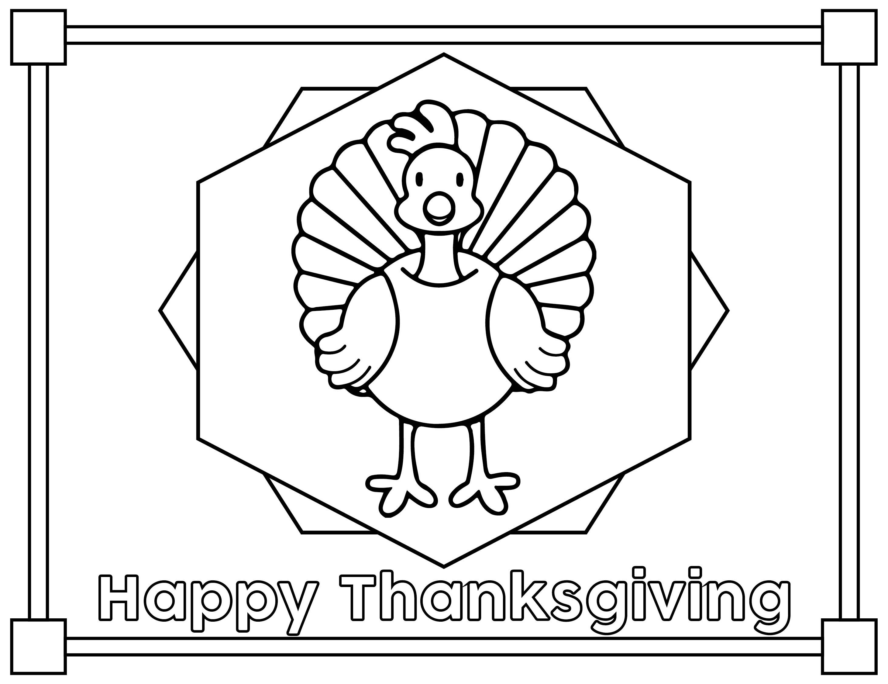 6 Images of Preschool Printables Thanksgiving Placemats