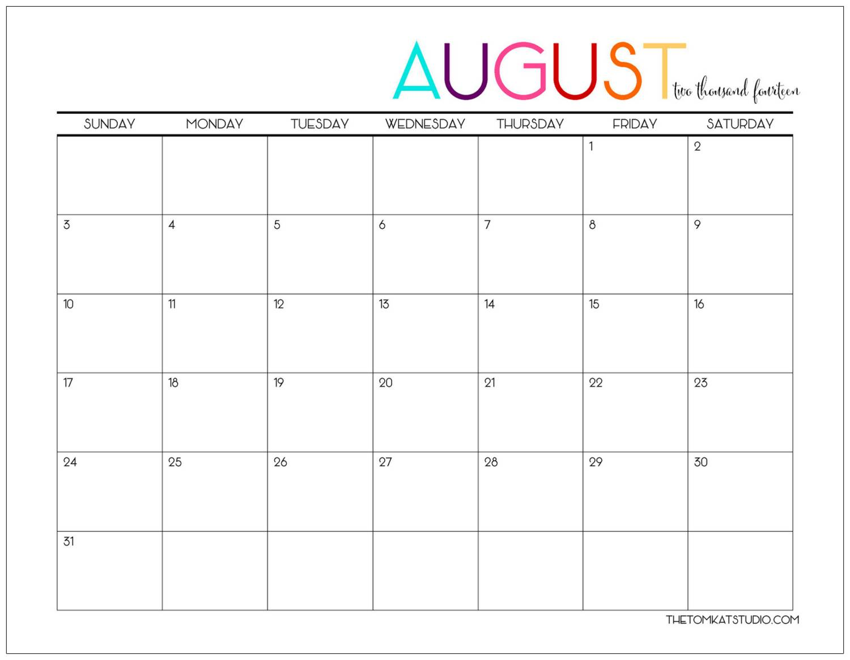 Calendar Printables Cute : Best images of cute printable august calendar