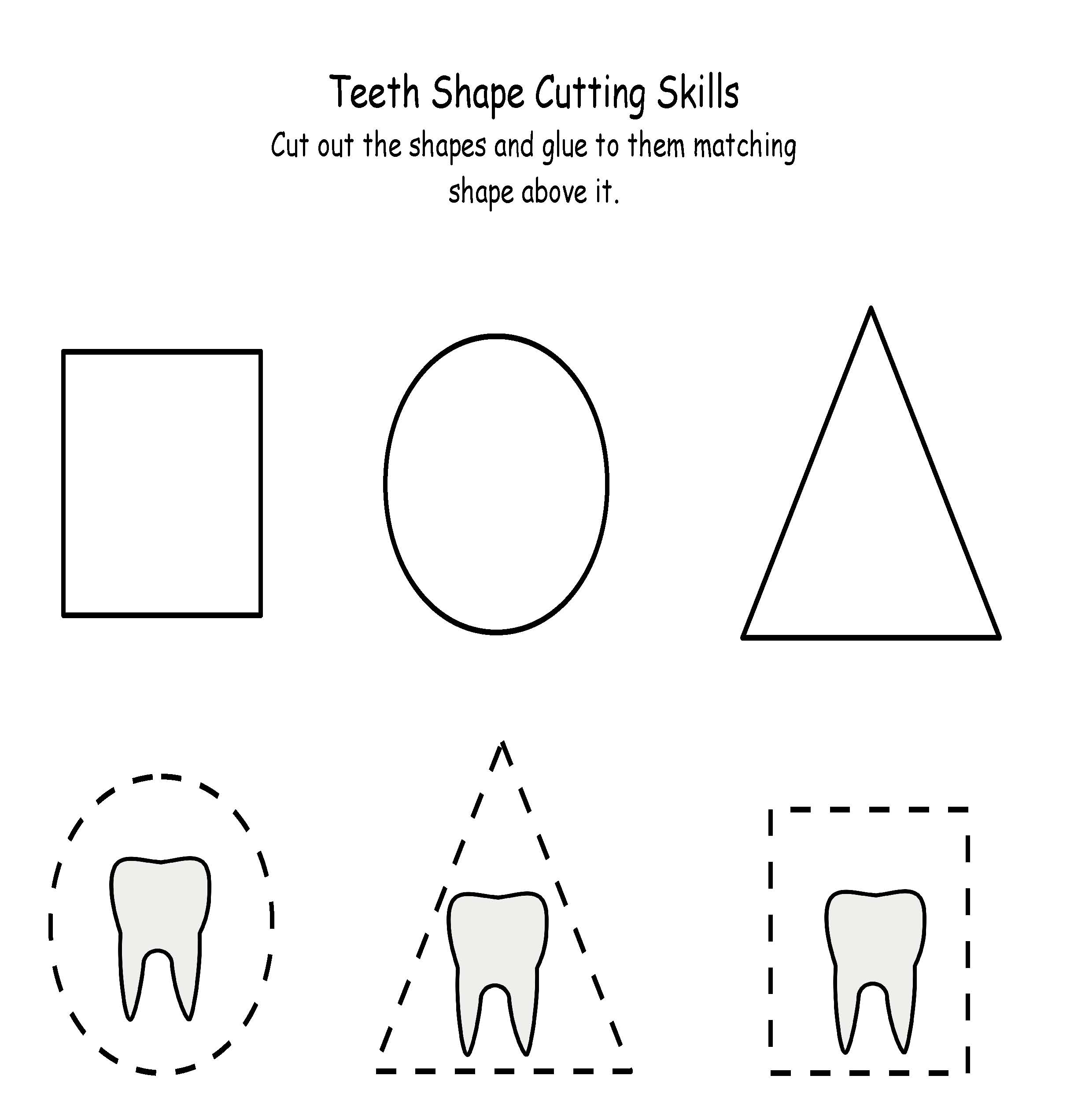 Cut And Paste Math Worksheets For Preschoolers Preschooler – Cut and Paste Math Worksheets