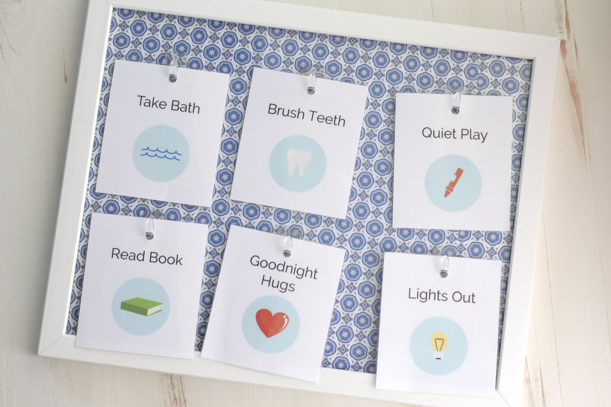 7 Images of Free Printable Bedtime Routine Cards
